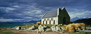 The Church of the Good Shepherd Lake Tekapo New Zealand