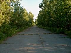 Vieille route - Old road (Luc Deveault) Tags: road canada hp quebec qubec luc photosmart deveault lucdeveault