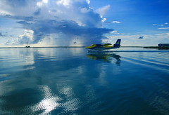 Seaplane to somewhere exotic??? (simply special) Tags: sea vacation holiday bravo special hana simply maldives seaplane blueribbonwinner supershot instantfave abigfave simplyspecial