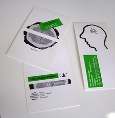 (dailypoetics) Tags: green illustration businesscards