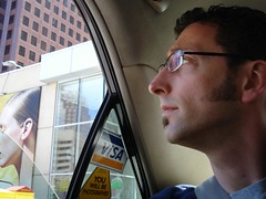 Mark in Toronto cab