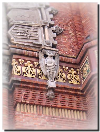 Fladdermöss på Arc de Triomf
