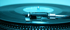 Technics (SefaUcbas Photo) Tags: blue colour green scotland dj vinyl turntable technic needle decks scratch gells realone revoltink