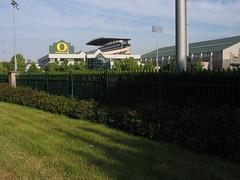 various buildings at the Autzen Stadium complex (functoruser) Tags: oregon eugene universityoforegon eugeneoregon autzen lanecounty willamettevalley autzenstadium lanecountyoregon