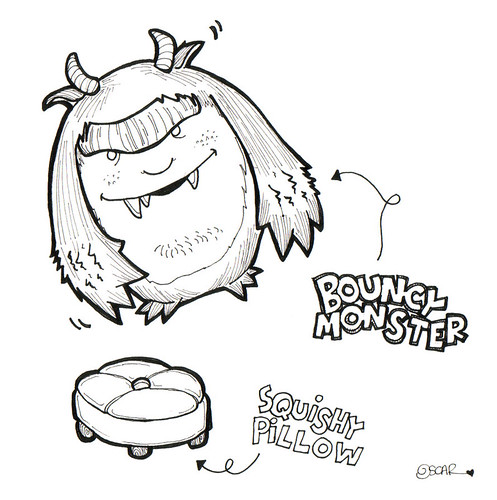 Bouncy Monster