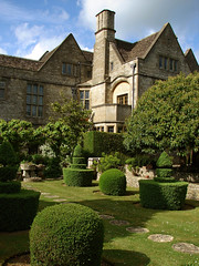 Cotswold classic, Rodmarton manor, Gloucestershire (archidave) Tags: uk england house green english nature architecture garden design topiary box crafts traditional country lawn arts style gloucestershire vernacular manor cirencester artsandcrafts cotswold