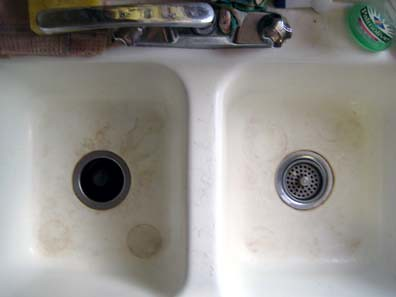 Sink Stains