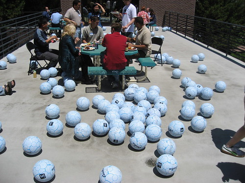 Four Square balls everywhere