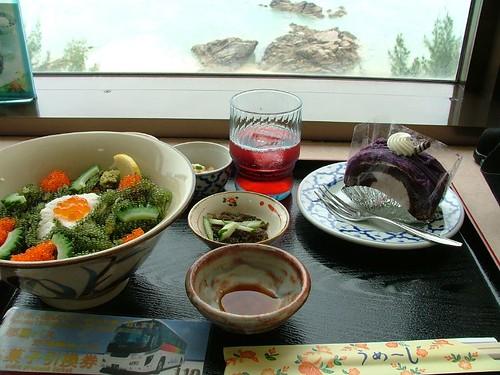 5.18午餐-海葡萄定食