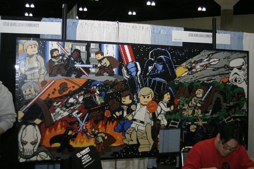 star war wallpaper star wars mural. Black Bedroom Furniture Sets. Home Design Ideas