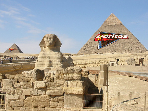 Doritos (Frito Lay) Stakes Claim to the Giza Pyramids