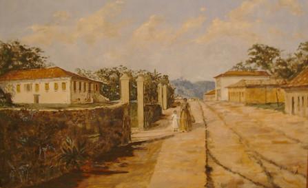 Rua_da_Consolação_seculo 19_ José_Ferraz_de_almeida_júnior