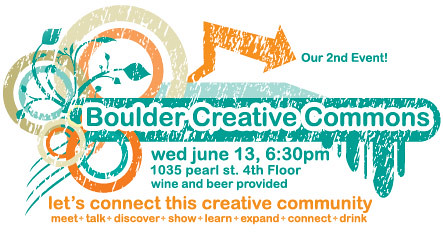 Boulder Creative Commons (take 2)
