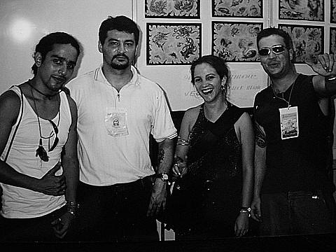 Banzai Tattoo de Salvador ,Mordenti ,Fantin e Pablo Dellic