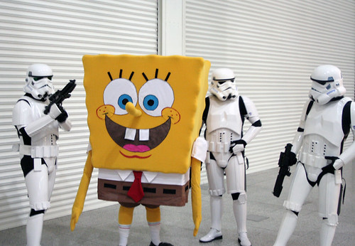 Stormtroopers and Spongebob