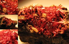 Erythrite (jaja_1985) Tags: erythrite redcobalt cobaltbloom bouazzer morocco mineral minerals macro closeup rocks