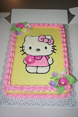 Hello Kitty Cake (Jens Creations) Tags: hello birthday party cake japan happy japanese kitty sanrio jens homemade iwakuni creations jenscakes