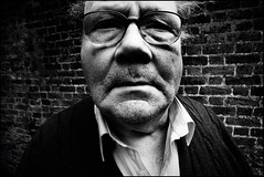 (p0cket-paul.) Tags: portrait blackandwhite bw london digital blackwhite wide gr grdigital ricoh 21mm grd top20peoplephotos gw1 ricohgrd 21mmequiv 1sttests