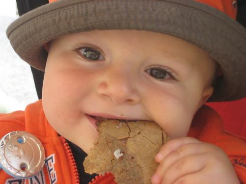 Starving CESARE (my nephew)