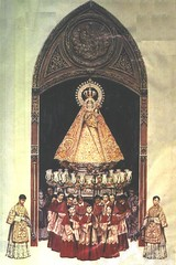 The Santo Rosario in Procession [circa 1912] (La Gran Seora de Filipinas) Tags: heritage beauty lady del de la icons catholic maria faith mary philippines jose religion jesus culture grand icon rosario rosary naval nio virgen mara marian jess nuestra seora birhen hermandad la santsimo maria exhibit santisima mara santsima procesin marian nuestra naval manila rosario santisimo santsimo