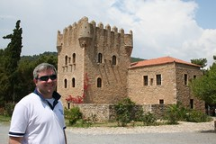 Lee at the museum of Mani (leekelleher) Tags: museum mani greece lee 2007 peloponnese yithio gytheio southernpeloponnese kranaiisland