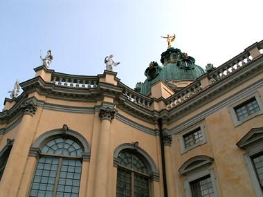 Attikafiguren, Schloss Charlottenburg