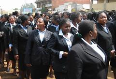 Intl Women's Day (Melisuz) Tags: cameroon bamenda marchpast internationalwomensday2007