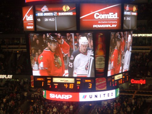 Chicago BlackHawks Hockey Game