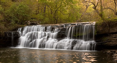 Mardis Mill Falls (K. W. Sanders) Tags: trees nature water creek landscape waterfall interestingness bravo rocks canon20d alabama interestingness1 123 vegetation waterblur capture exceptional canon1740mmf4l naturesfinest gravescreek alabamathebeautiful flickrexplore mardismillfalls anawesomeshot superbmasterpiece diamondclassphotographer flickrdiamond