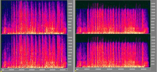 MP3 versus CD quality (PCM)