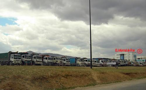 Huelga transporte maroc 1