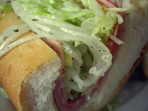 Italian Sub from Giovanni's Deli