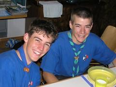 Rossignol und Specht (Michael Beat) Tags: 2004 scouts sola pfadfinder fnf sennwald murg feuerkreis velolager