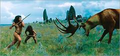 Megaloceros vs Homo