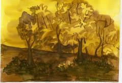 Fall Colors (Amudha Irudayam) Tags: watercolor painting northwest amudha
