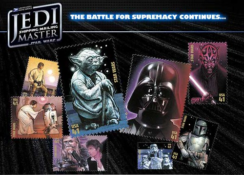 Star Wars stamps--vote for your favorite!