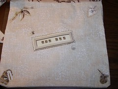 Close up of Wedding side of Wedding/Cowgirl Bag