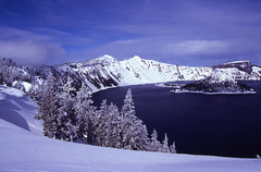 Wizard Island 2b (DY Pics) Tags: snow oregon craterlake craterlakenationalpark craterlakeoregon wizardlsiand