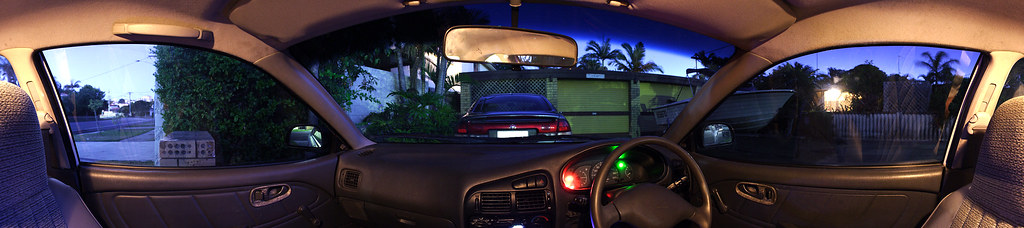 Car Interior Panorama (270°x60°)