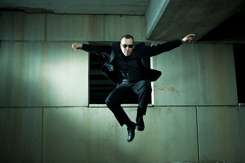 Agent Smith is chasing me.