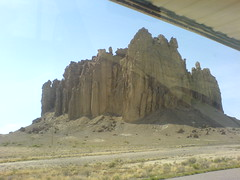 Day5d - Rock nr Shiprock (Rattlesnake, New Mexico, United States) Photo