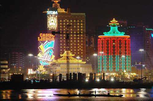 51 Macau Harbour at Night2