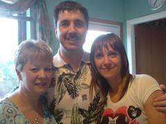 Yvonne, D & Olly