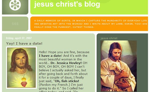 Jesus Christ's Blog