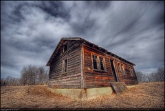 Quiet Country Home (A guy with A camera) Tags: wood sky house canada abandoned home rural wooden nikon bravo cloudy farm country rustic sigma alberta farmer prairie 1020 hdr ruraldecay farmstead blueribbonwinner d80 abigfave anawesomeshot colorphotoaward