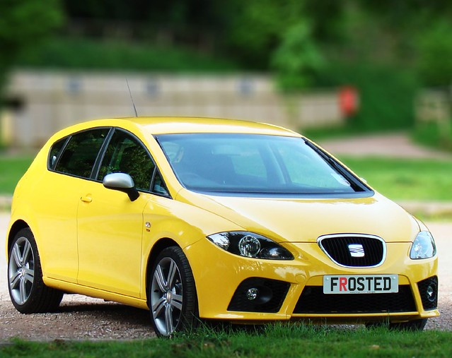 My Seat Leon FR, 170bph TDi in Crono Yellow.