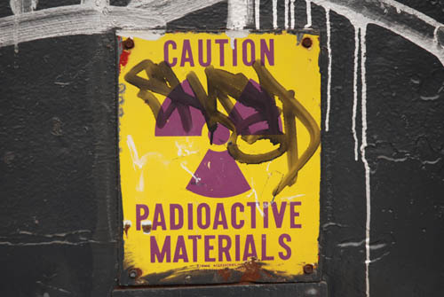 Radiac Radioactive Sign