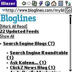Bloglines Mobile