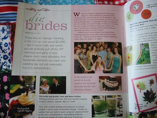 My DIY Brides article in Adorn