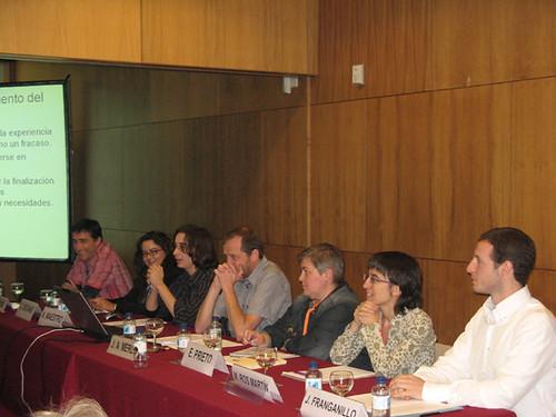 Mesa de blogs y biblioteca 2.0 en fesabid